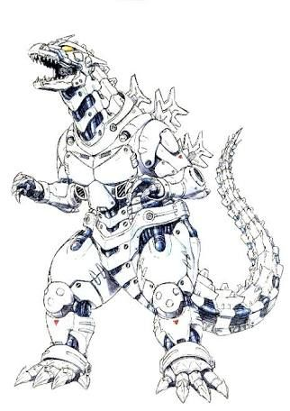 Hasil Gambar Untuk Mecha Godzilla Art Godzilla