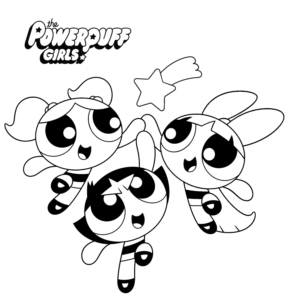 Powerpuff Girls Boyama Sayfalari Ideias Para Desenho Estampas