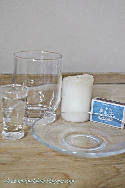Akademia Małolata: Wsysacz wody - eksperyment ze świeczką