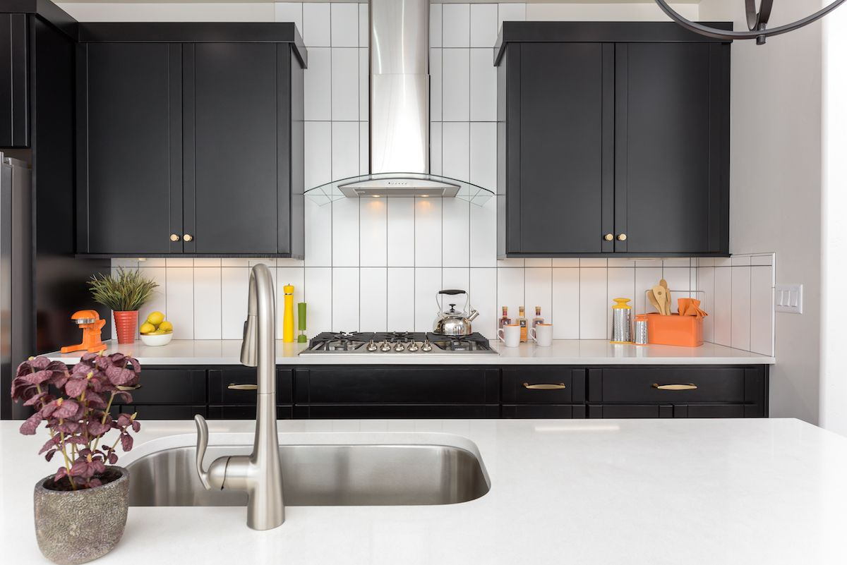 A kitchen thatus good looking will help you get cooking chef