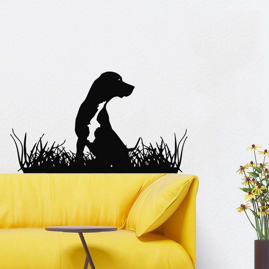 Dog Wall Decals Grooming Salon Cute Puppy Pets Pet Shop Home ...