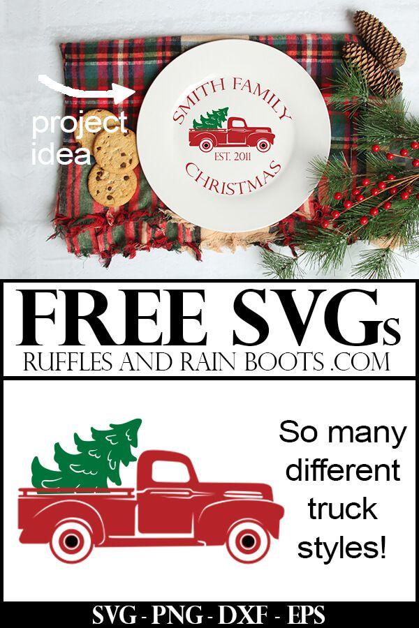 Free Christmas Truck Svg Files Free Christmas Christmas Svg Files Christmas Truck
