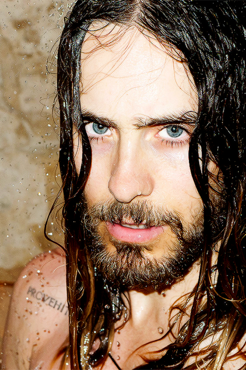 Shower with me. | Jared leto, Terry richardson