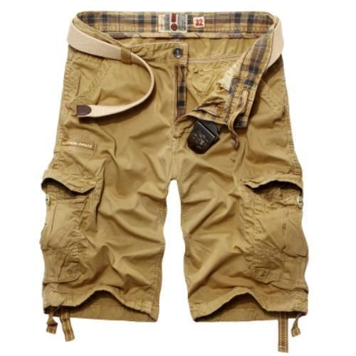 Summer Men's Casual Shorts Pants Fashion Camouflage Baggy Cargo ...