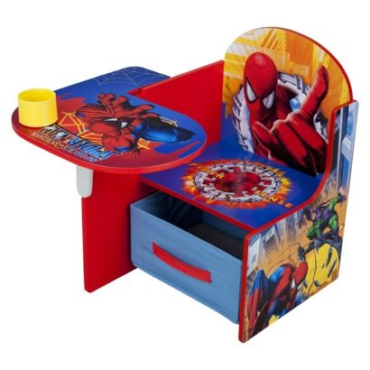Delta Children S Products Chair Desk With Storage Bin Spiderman Maybe I Can Find
