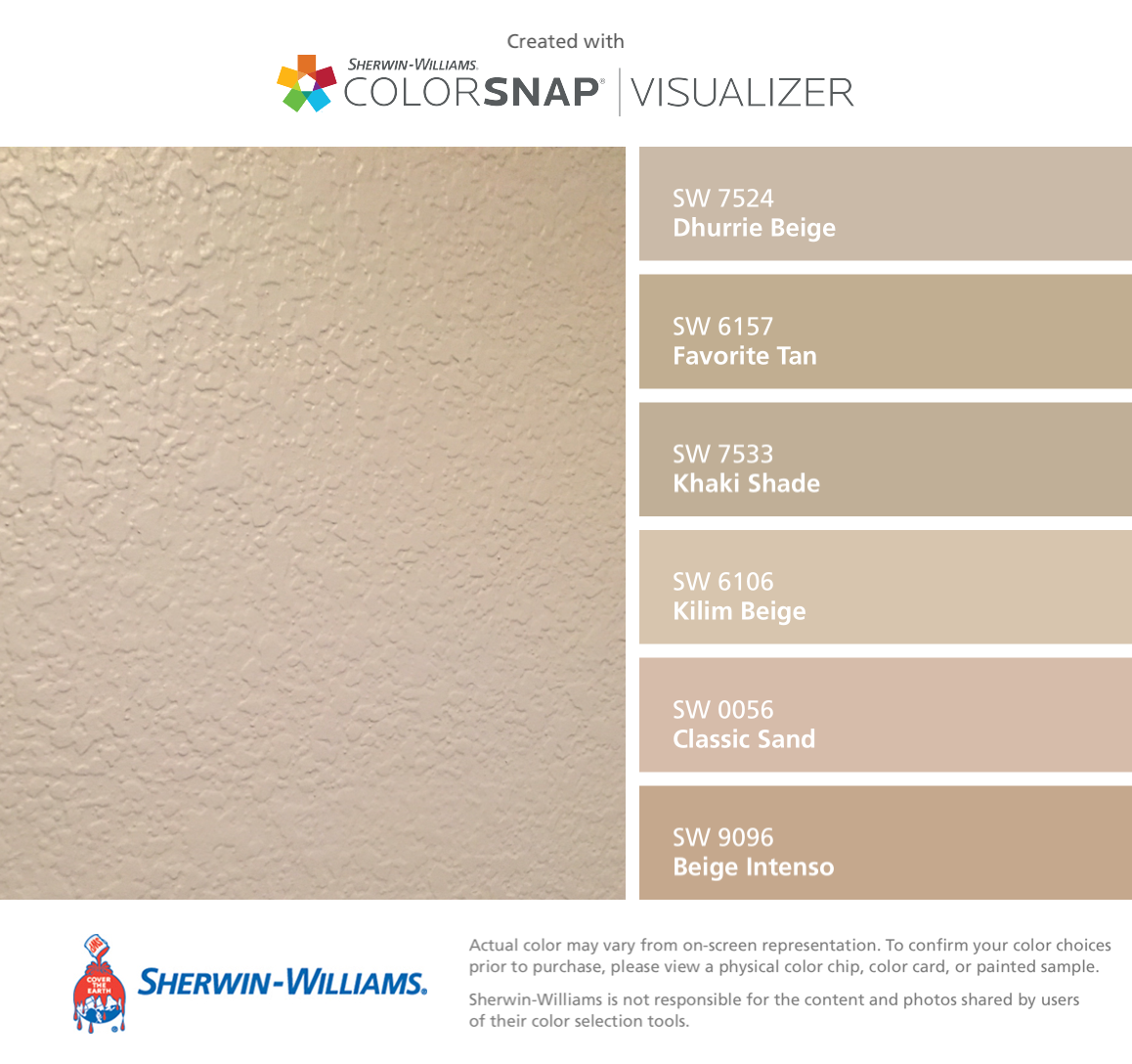 Sherwin Williams Color Favorites: GP Apt Sherwin-Williams: Dhurrie Beige (SW 7524), Favorite
