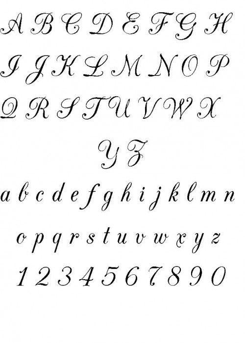 Alfabet Ozdobny Do Tatuazu Szukaj W Google Tatuaż