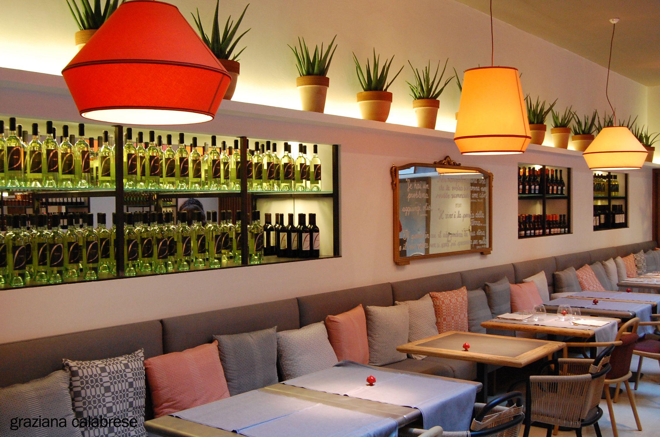 Pulia Italian Restaurant Bakery Shop And Coffee Bar Eclectic Interior Design