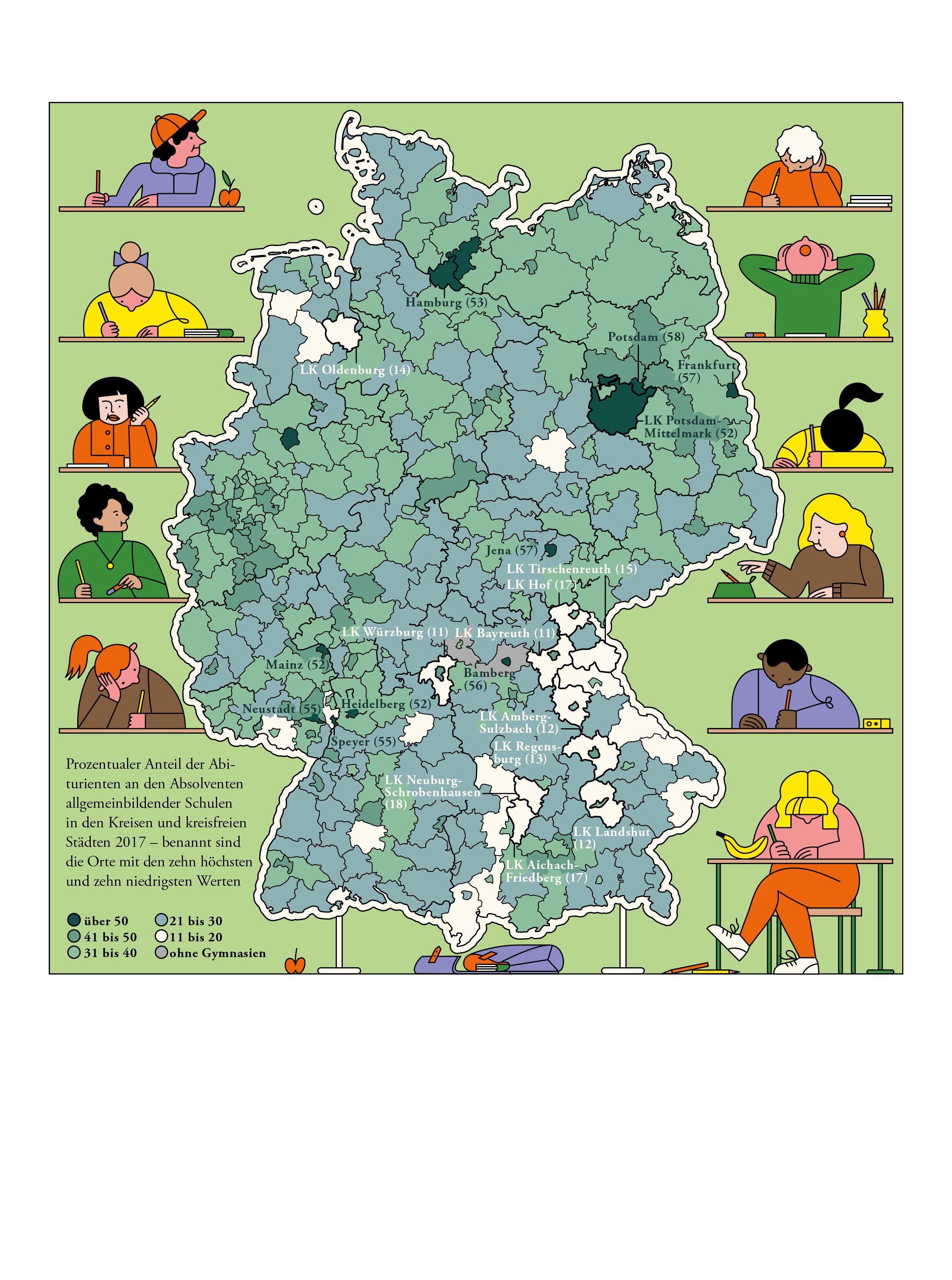 15 Deutschlandkarte Abiturientenquote Map Comics Map Screenshot