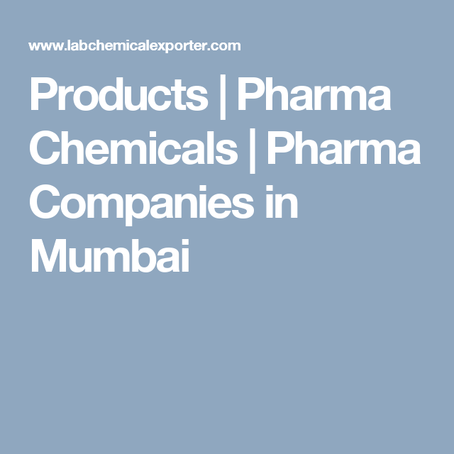 Products of pharma chemicals are engaged in offering Pharma