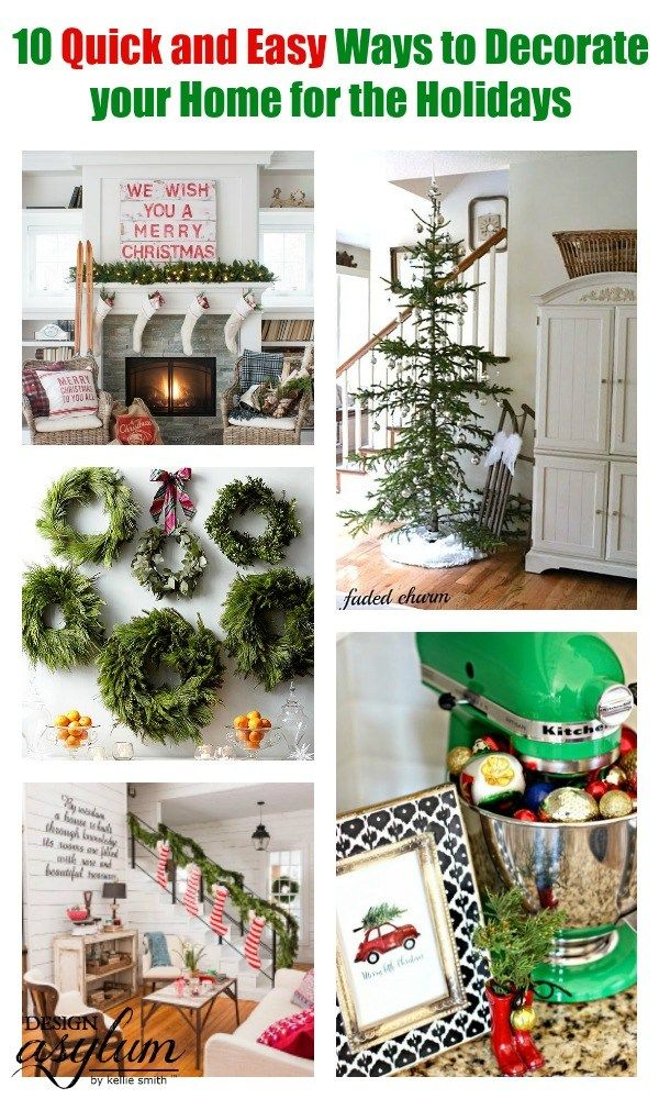 Here are 10 quick and easy ways to decorate your home for ...