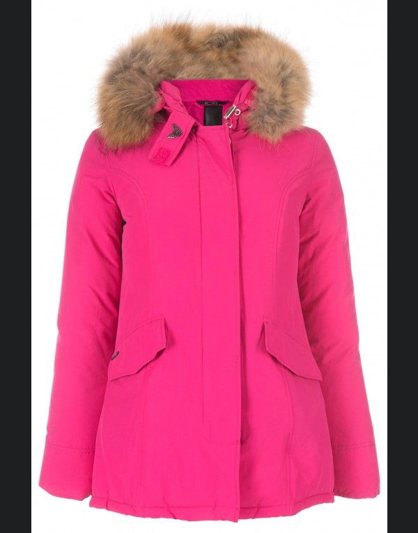 airforce 2 pocket basic parka Fuchsia Purple #airforce