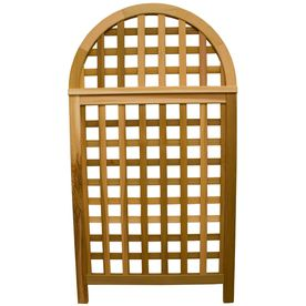 Garden Architecture�36.25-in W x 66.75-in H Natural Arched Landscape Screen Garden Trellis lowes 283.67