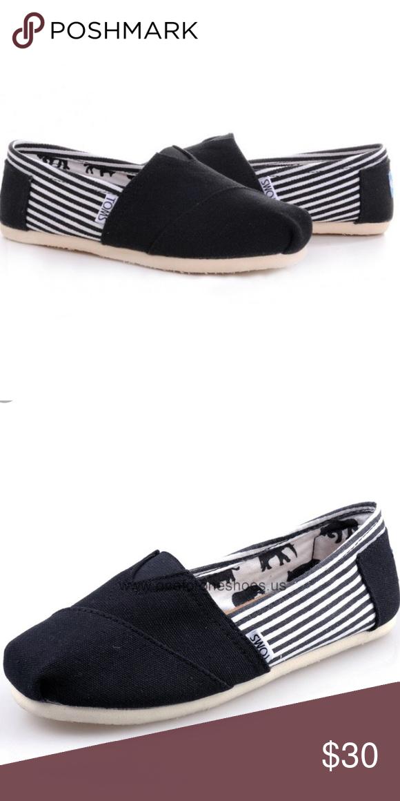 Toms Shoes Men Stripes Nwt Size 10 Nwt Toms Shoes Shoes Shoes Mens