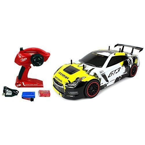 Rc Car Kids Toy Rtr Gt3 Racer Supercar W Lithium Battery 1 10