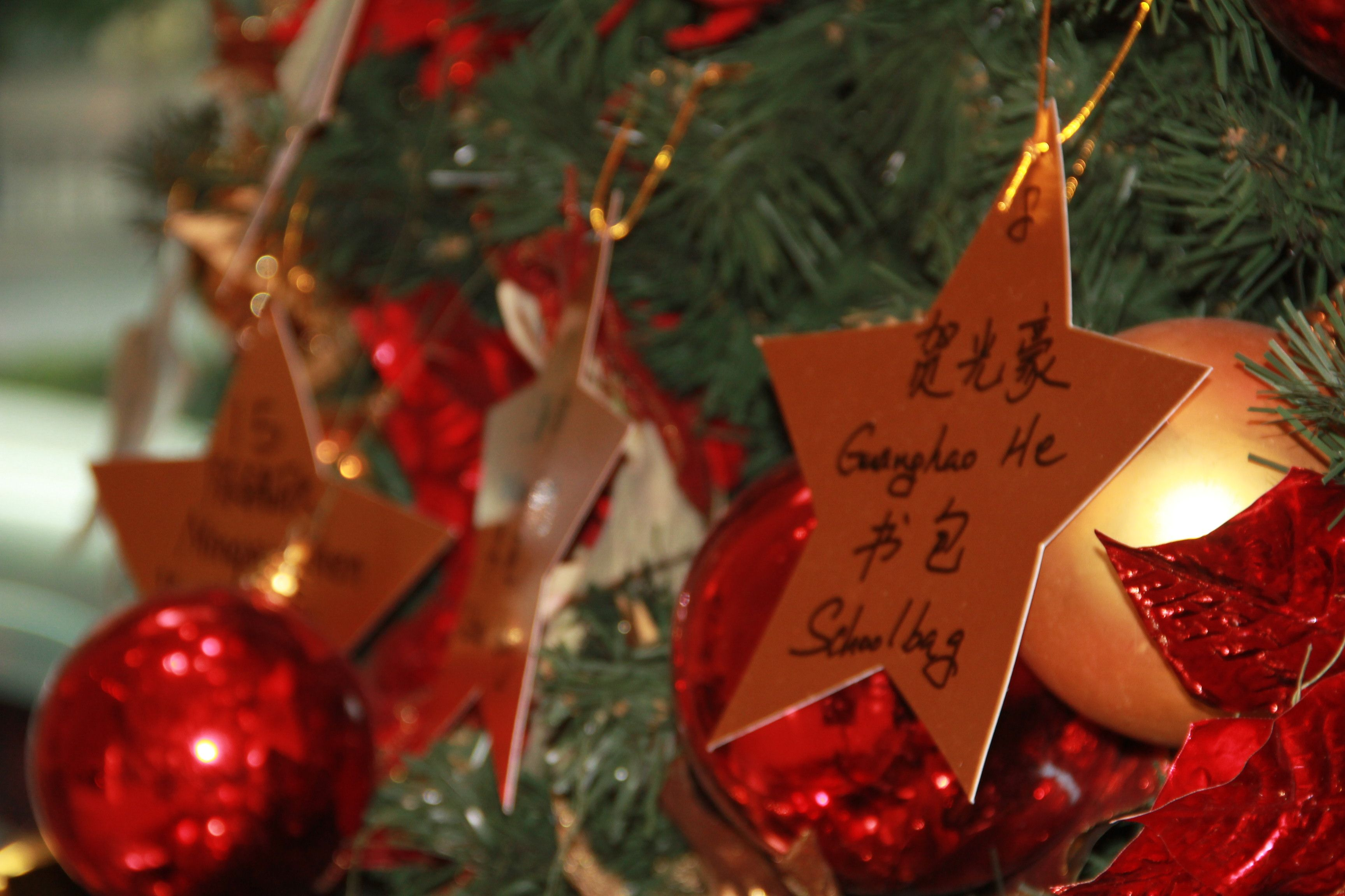 Wish Upon A Children S Star Contribute Your Effort To Make A Low Income Migrant Family S Child S Beautiful Christmas Bulbs Christmas Ornaments Merry Christmas