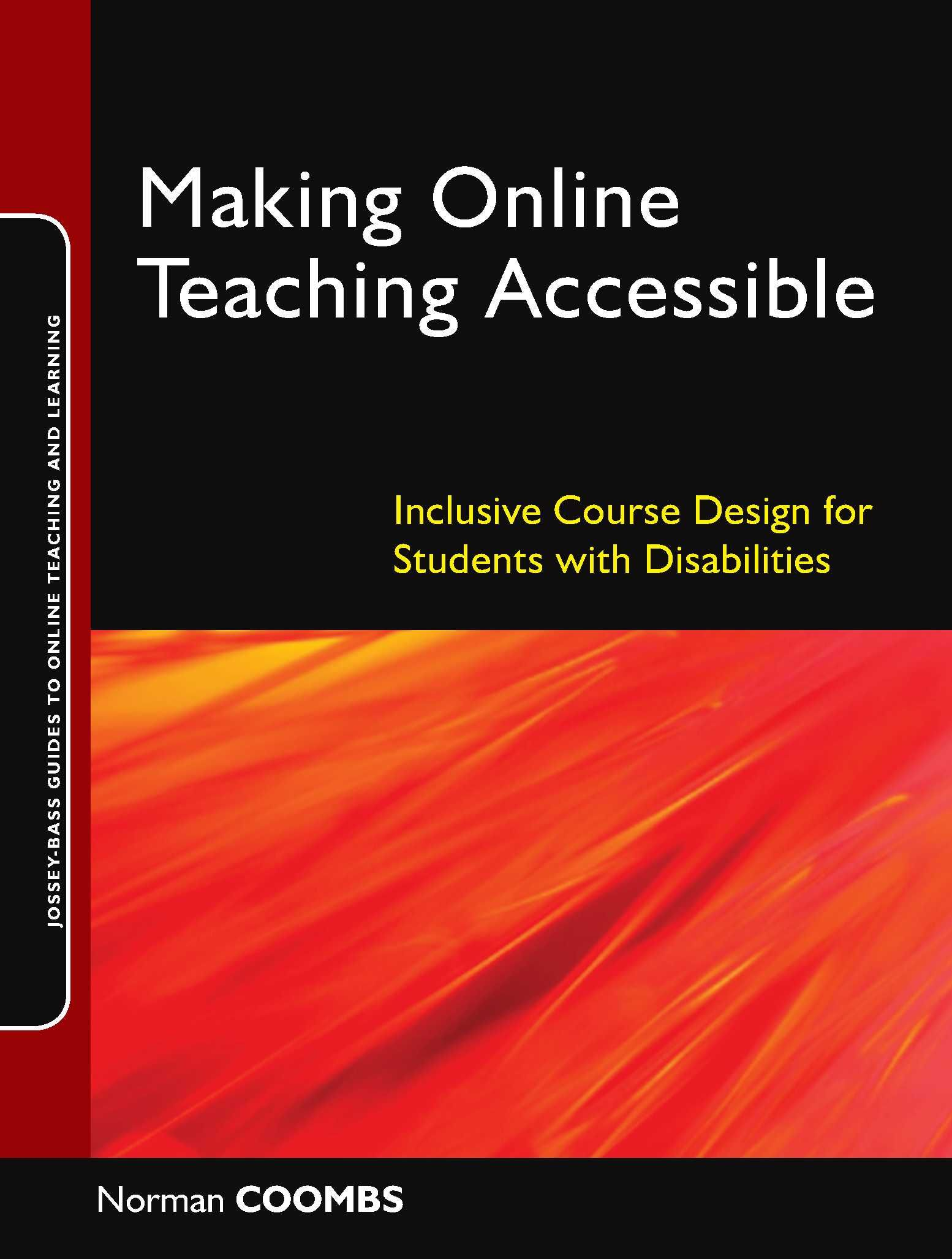 Design book covers online - Making Online Teaching Accessible Jossey Bass Guides To Online Teaching And Learning Inclusive Course Design