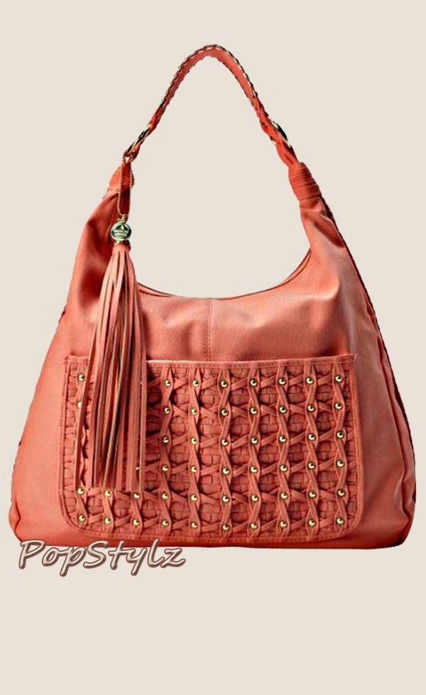 BIG BUDDHA Finley Satchel Handbag