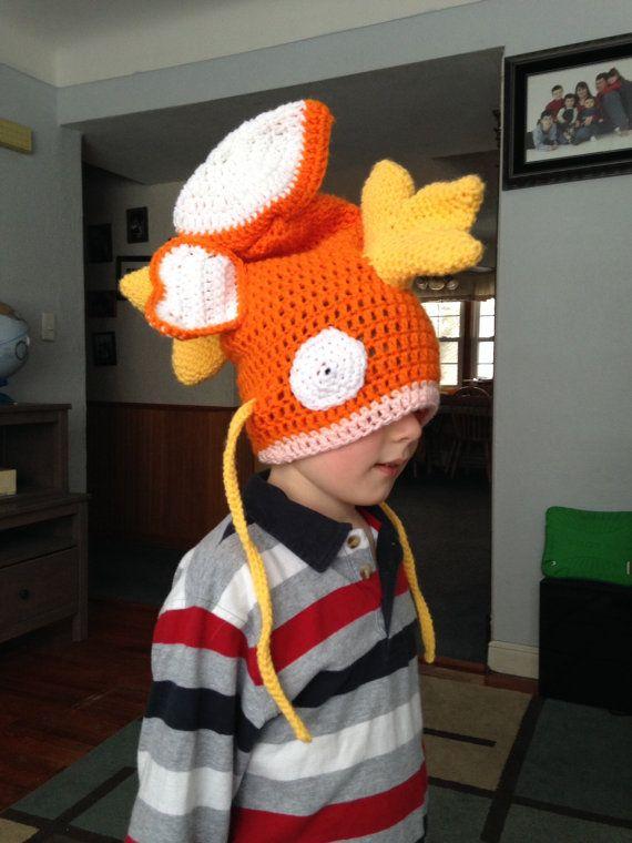 Crochet pokemon Magikarp hat child/small by SydneyCrochets101 ...