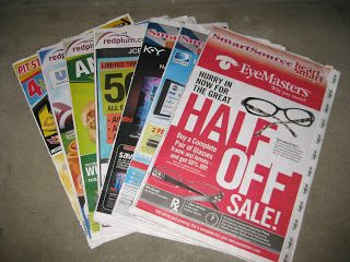 How do i get newspaper coupon inserts