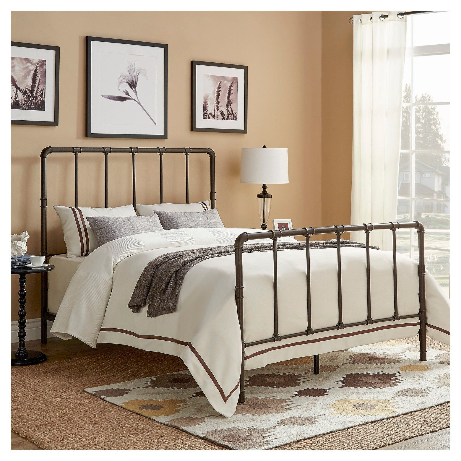 Inspire Q Marmora Industrial Piping Metal Bed
