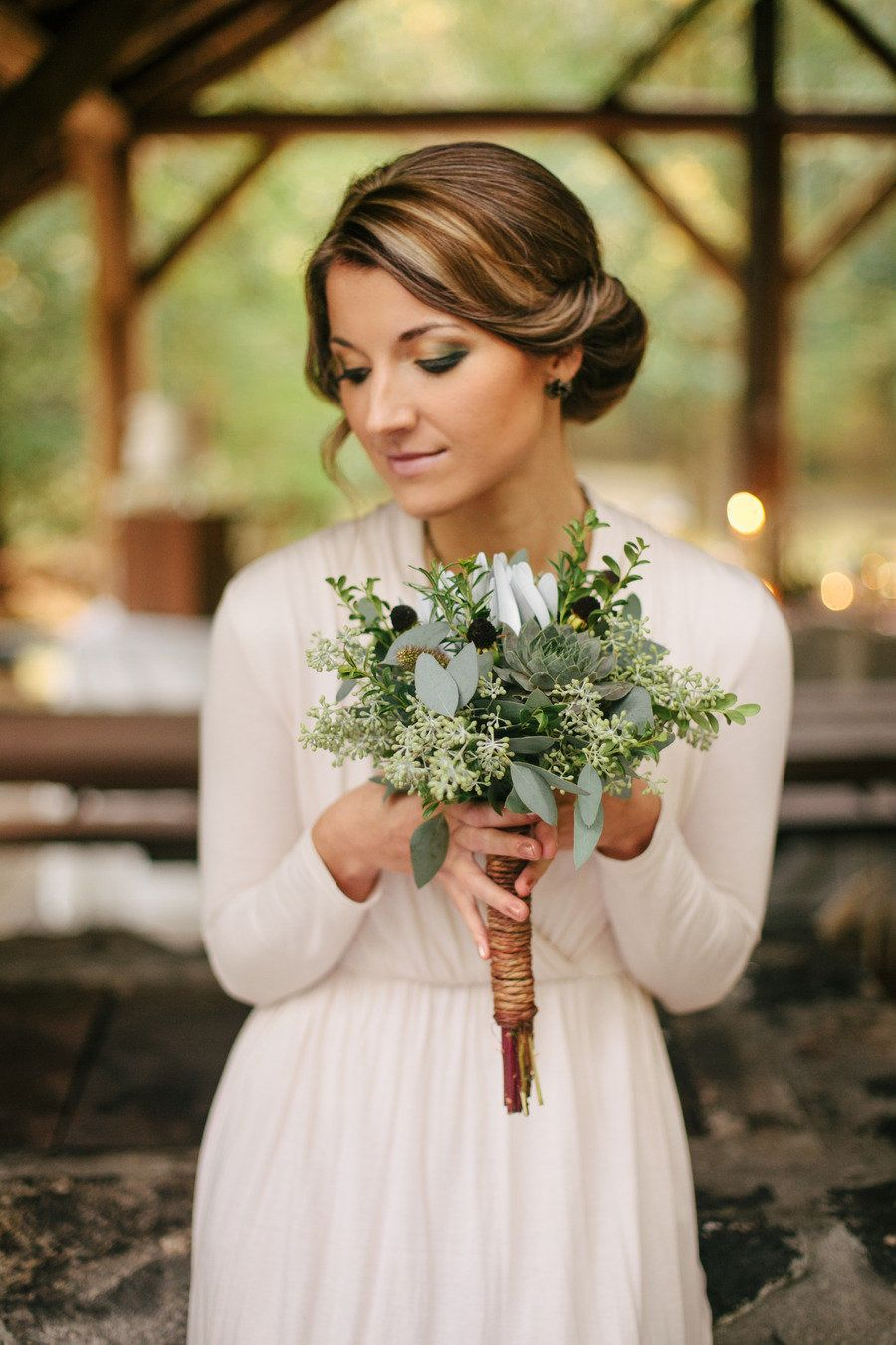Photo of Earthy Greens Inspired Photo Shoot from Anastasia Marie + Angela Shae