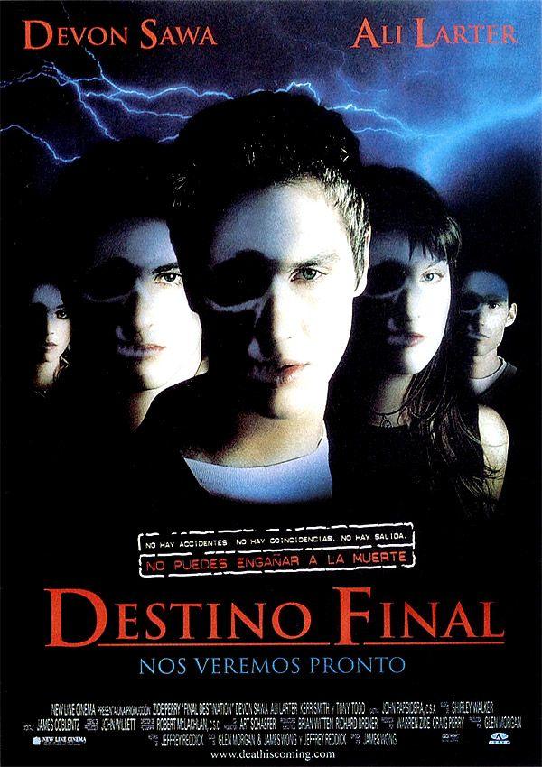 El Destino Final 1 Poster Peliculas Completas Carteleras De Cine Destino