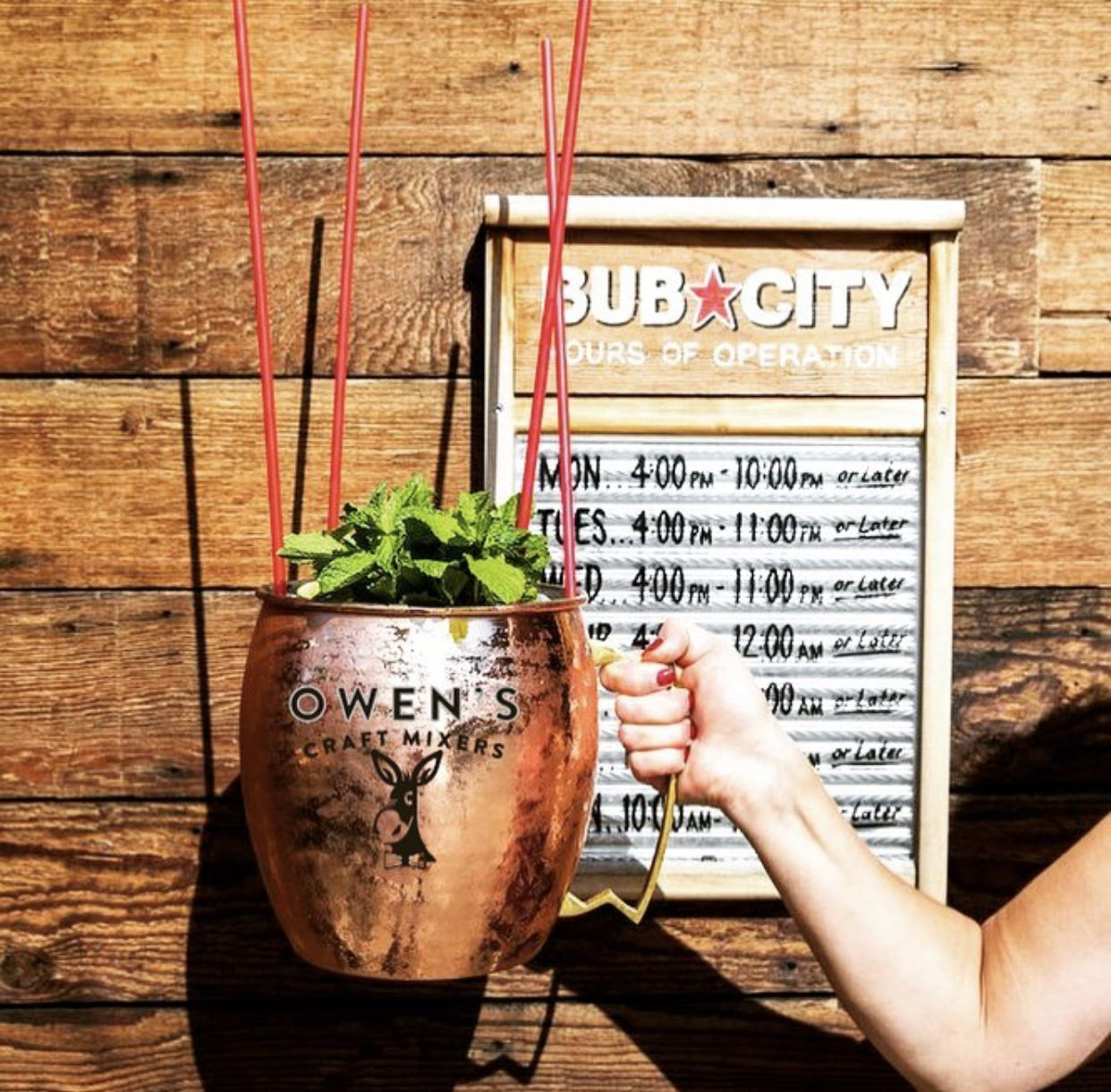 This Owen S Mega Mule Is 3 Parts Owen S Ginger Beer Lime And 1