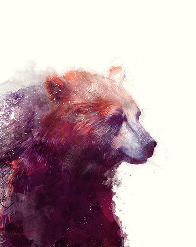 Galaxy Bear Dreams And Far Off Places Bear Art Art