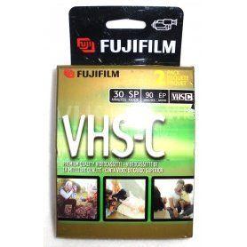 2 FujiFilm Video TC-30 VHS-C Premium Quality Videocassette VHS Camcorder Cassette