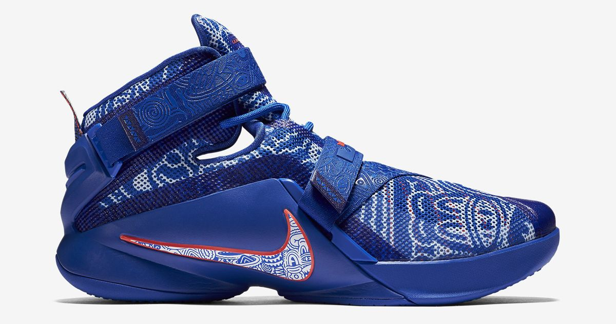 The Latest Freegums x Nike LeBrons Just Released