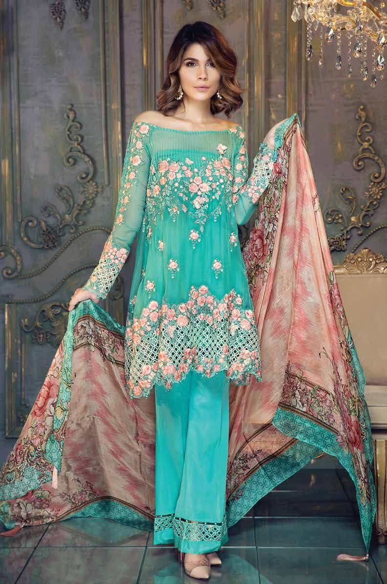 Mesmerizing Chiffon from Aayra. This splendid collection will make ...