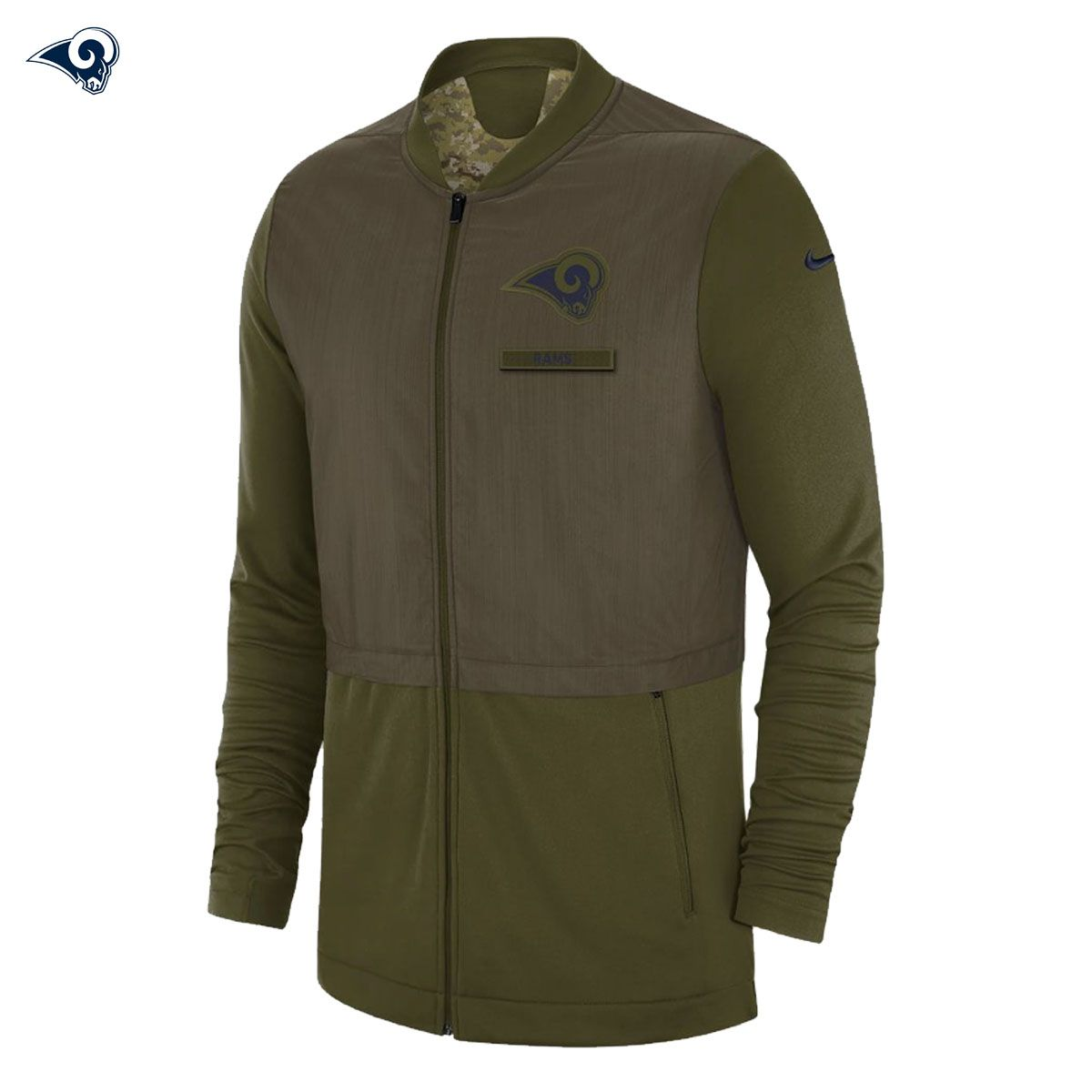 dbe1eab6a NEW Nike 2018 NFL Salute to Service Los Angeles Rams Hybrid Jacket Limited  NWT Salute The Troops! The NEW 2018 Salute To service Line Is Finally Here!
