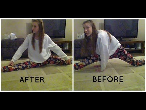 how to do the splits fast quick and easy best video