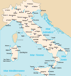 Map Of Italy Interesting Maps Of Italy Pinterest Italy - Clear map of italy