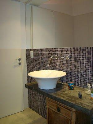 Venecitas lugares ideales mosaic bathroom for Banos decorados con guardas de venecitas