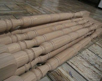 Best Carved Wood Balusters For Stairs In 2020 Wood Balusters 400 x 300