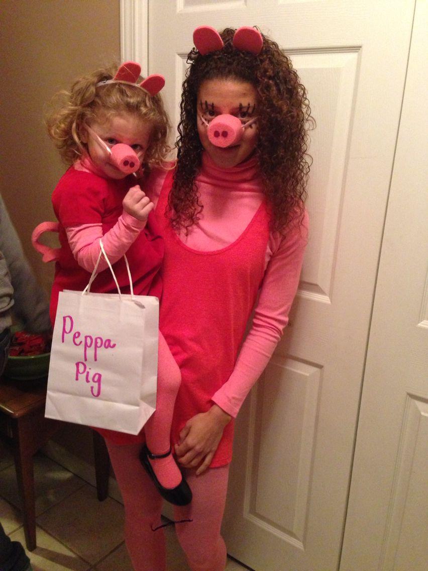 Peppa Pig & Mummy Pig Halloween 2014