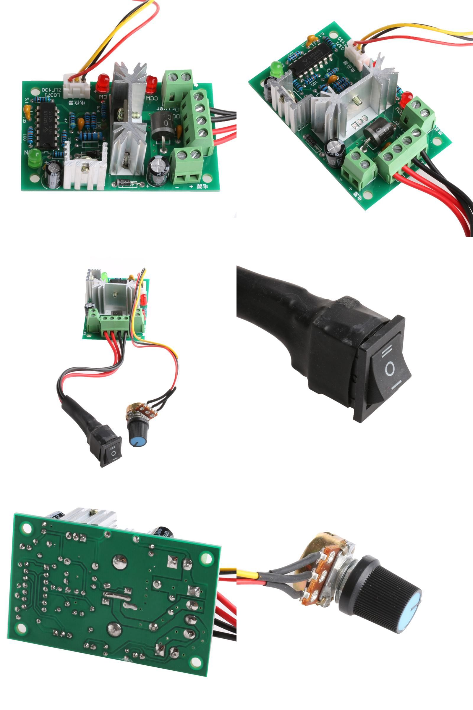 Visit To Buy Dc Motor Speed Controller 10 36v Reversible Pwm Forward And Reverse Circuit Control