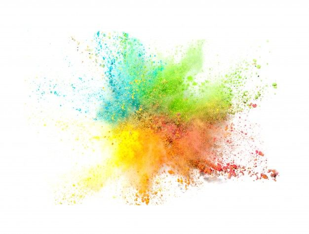 Explosion Of Colored Powder On White Background Free Photo Free Photo Freepik Photo Freebackgr Color Powder Background Design Vector Watercolor Background