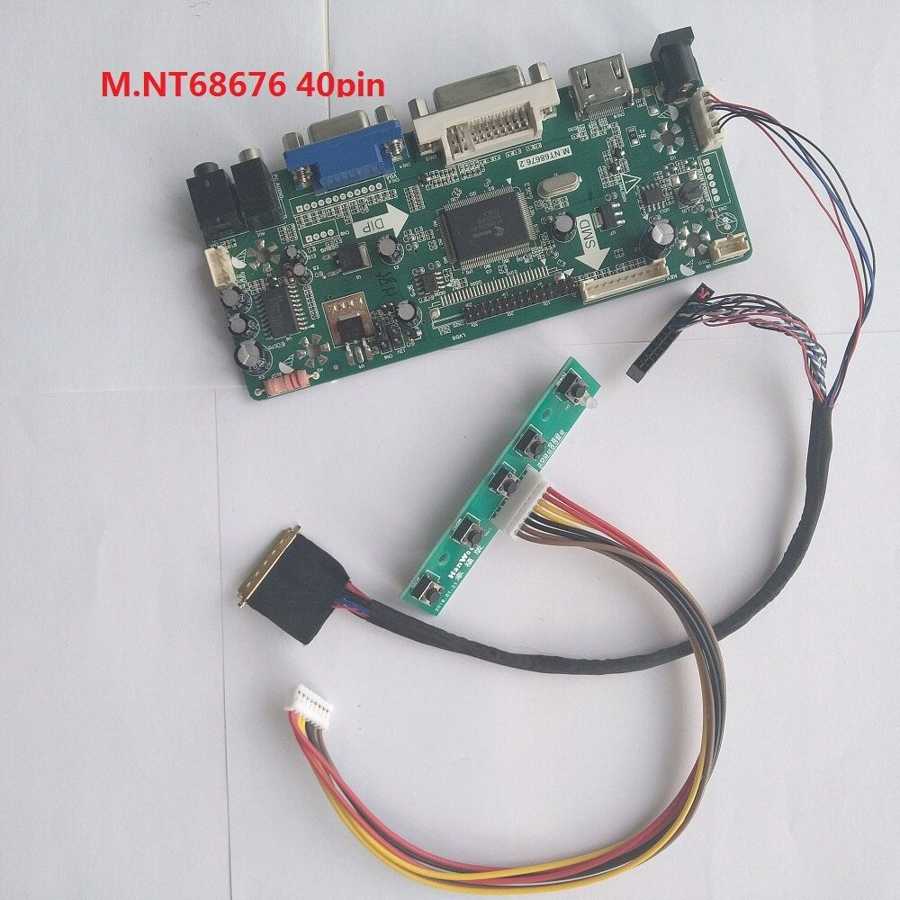 "HDMI+DVI+VGA LCD Controller board Kit diy for 15.4/"" LTN154X3-L02 1280X800 panel"
