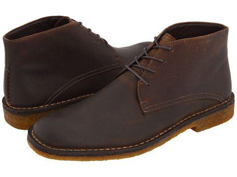 Johnston & Murphy Runnell Chukka Boot Tan Oiled Full-Grain Leather ...