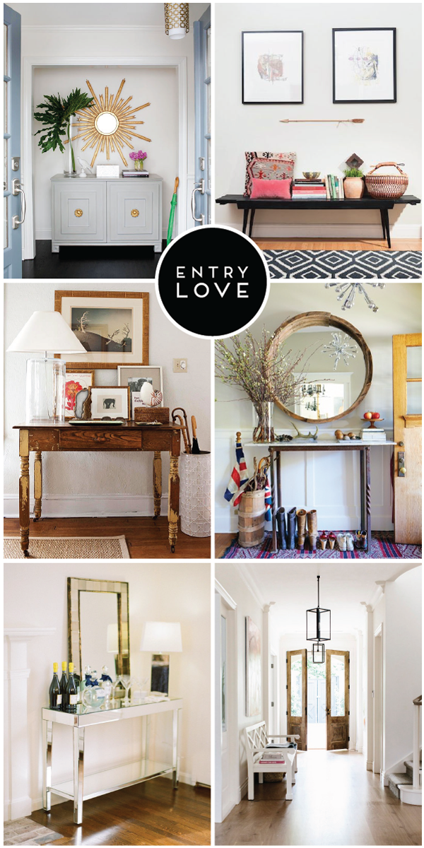 Inspiration For Small Apartment Balconies In The City: Entry Love: Inspiration For Creating The Perfect First