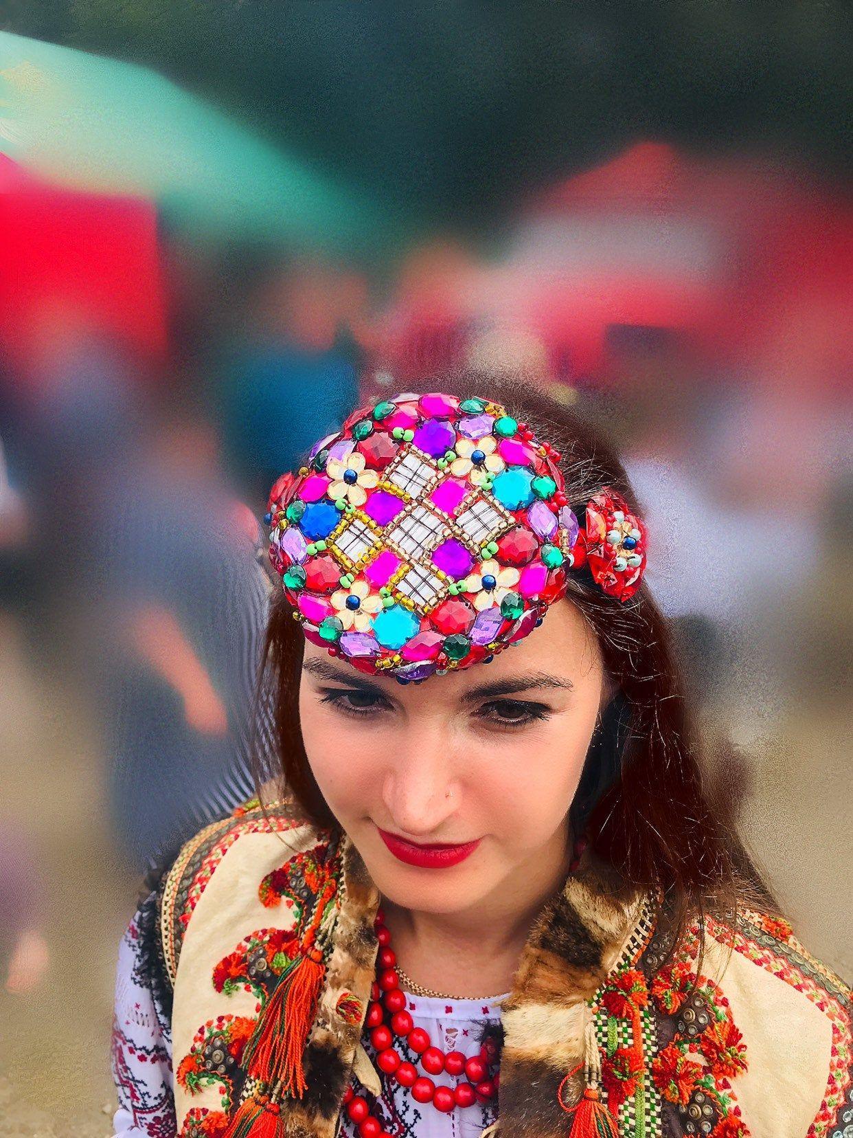 Wedding crown Ukrainian wedding crown Ukrainian Flower crown Headband Flower Headpiece #crownheadband