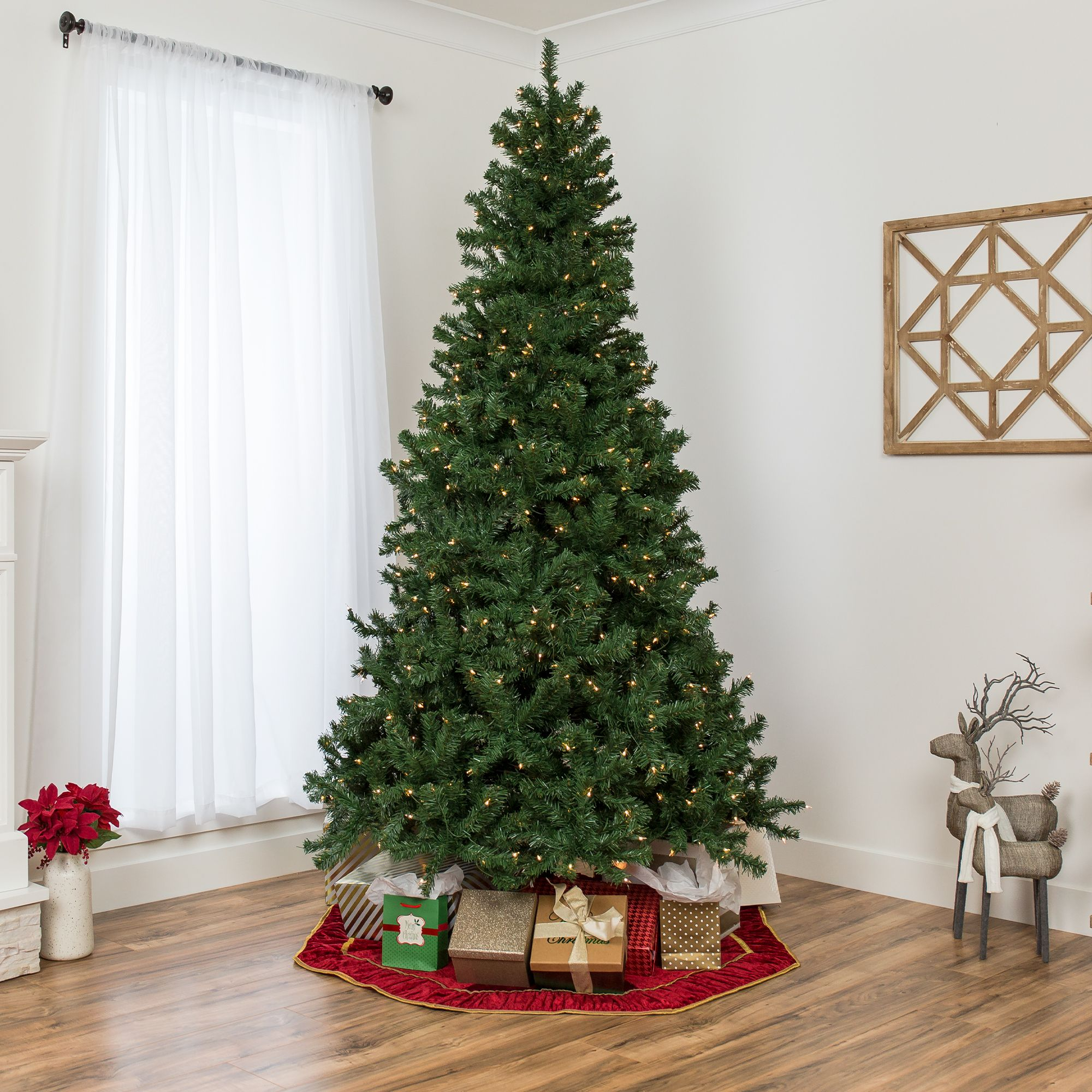 Home In 2020 Pre Lit Christmas Tree Christmas Tree Office