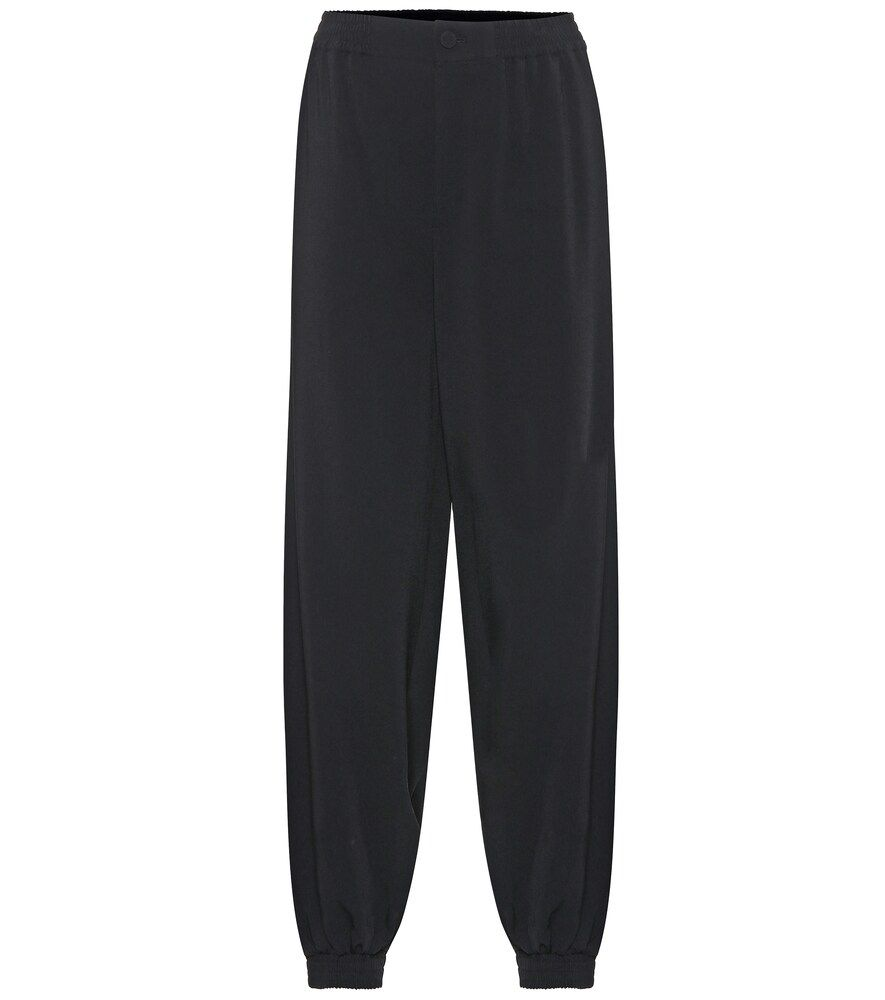 GUCCI STRETCHCRÊPE TRACKPANTS