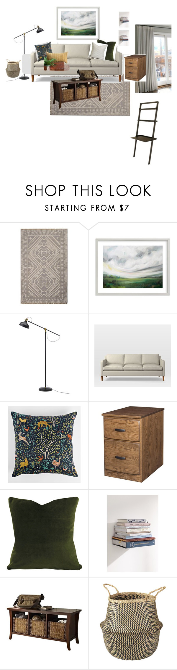 Living room basics by sarahrelk liked on Polyvore featuring