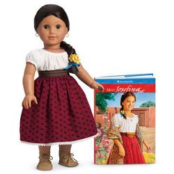"Josefina Beforever 6/"" Mini Doll /& Book ONLY American Girl New"