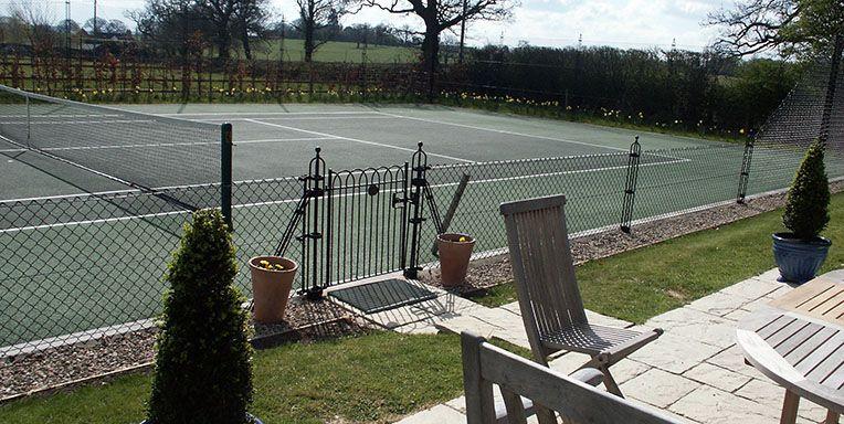 Tennis Court Fencing and MUGA Fencing EnToutCas