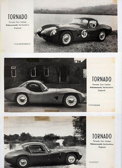 1962 Tornado Thunderbolt Typhoon Tempest Art Cars Tornado Vintage Ads